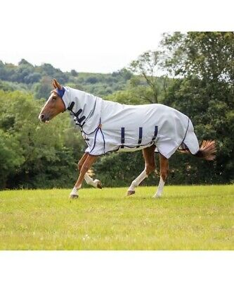 """6'3"""" Shires Highlander Plus Sweet-itch Fly Sheet Combo Rug. • 29£"""