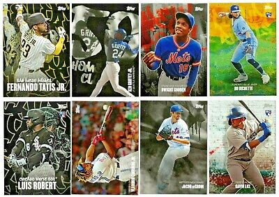 $0.99 • Buy 2020 TOPPS X PETE ALONSO Curated Set Singles BUY MORE&SAVE $0.99 SHIP YOU PICK!