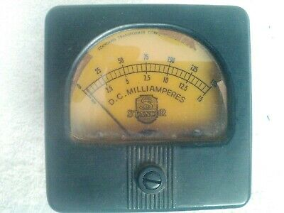 $5 • Buy Stancor Panel Meter 15/150 Ma. Scale