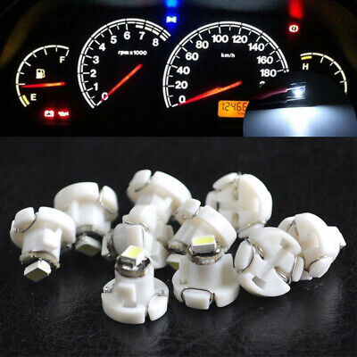 $3.50 • Buy 10x T4.2 Neo Wedge 1-SMD LED Cluster Instrument Dash Climate Light Bulbs White