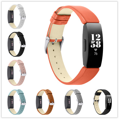 £7.34 • Buy Replacement Leather Watch Band Wrist Strap For Fitbit Inspire / Inspire HR UK