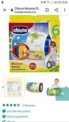 Chicco Musical Roller 6-36 Months • 2.99£