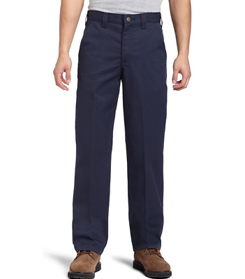 Carhartt Men's Navy Blended Twill Work Chino Pant Trouser B290W 42 & L20 £60 • 35£