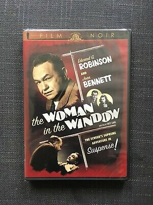 The Woman In The Window 1944 Brand New Sealed Import Dvd Edward G Robinson Noir • 7.99£