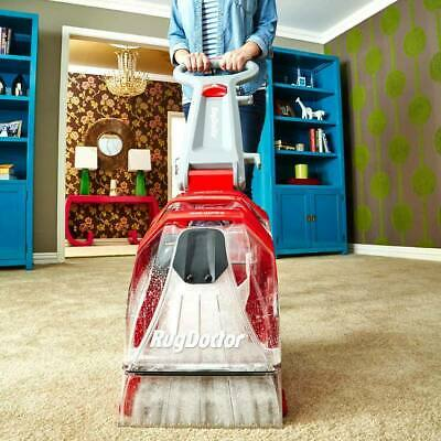 Rug Doctor Deep Carpet Cleaner With 2 X 1L Carpet Detergents Included • 269£