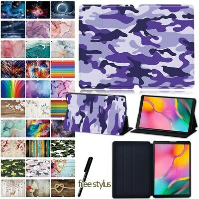 For Samsung Galaxy Tab A 10.1  T510 (2019)/ T580 (2016) Feather Case Stand Cover • 8.98£