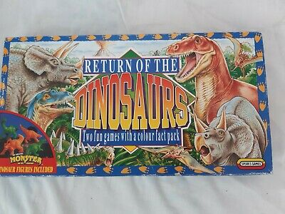 Return Of The Dinosaurs By Spears Games Complete Very Good Condition • 9.99£