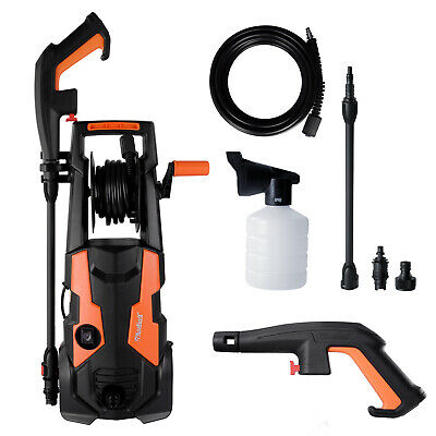 £65.99 • Buy Electric Pressure Washer High Power Jet 1740 PSI/120 BAR Water Wash Patio Car