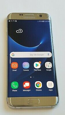 $ CDN100.24 • Buy Samsung Galaxy S7 Edge G935V -32GB-Silver-Verizon Unlocked -Scrn Cracks # 231SP