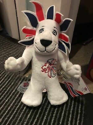 London Olympics 2012 Official Mascot Pride The Lion Soft Toy NEW WITH TAGS  • 4£