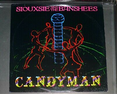 SIOUXSIE AND THE BANSHEES - CANDYMAN (12  Vinyl Single) 1986 • 3£