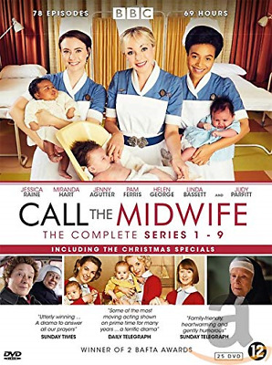 Call The Midwife - Complete Collection Series 1 + 2 + 3 + 4 + 5 + 6 + 7 + 8 + 9 • 82.18£