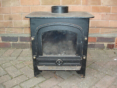 Gas Fire Coal Effect Cast Iron Stove Style • 99£