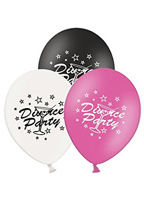 Party Decor Divorce Party - 12  Printed Latex Balloons Pack Of 5 - Assorted - • 5.74£