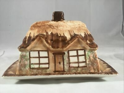 Vintage Ceramic English Cottage Ware Butter Dish Lid Cheese Bell Made In England • 17.67£
