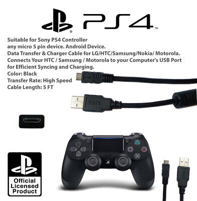 AU9 • Buy USB Cable Genuine For Sony PS4 Charger Charge Controller Dualshock PlayStation 4