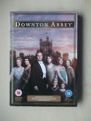 Downton Abbey Season Series 6 (DVD, 2015)  • 5£