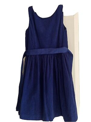 Polo Ralph Lauren Girls Navy Party/Smart Dress Age 10 Years • 2£