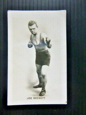 Union Jack 1923  Monarchs Of The Ring  Joe Beckett British Boxer No.2  • 4.99£