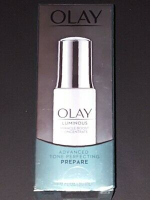 AU16.73 • Buy Olay Luminous Miracle Boost Concentrate Advanced Tone Perfecting PREPARE 1 Oz