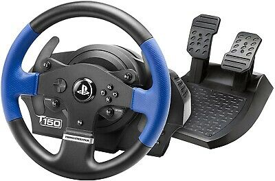 Thrustmaster T150 Force Feedback (PS4 / PS3 / PC) Racing Simulator Wheel Pedals • 120£
