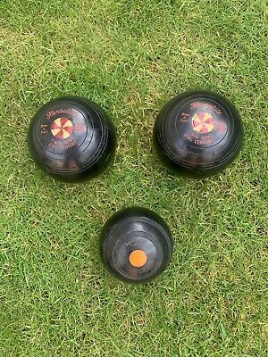 Henselite  Crown Green Bowls   2.6 With Thomas Taylor Jack And A Bag • 19.50£