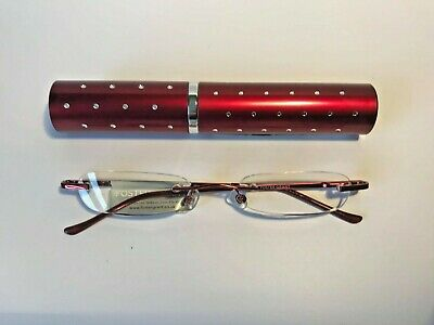 £5.99 • Buy Foster Grant Reading Glasses  - Red Case With Diamantes - RRP £12.50