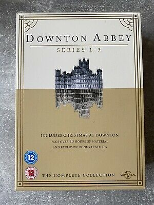 Downton Abbey - Series 1-3 - Complete (DVD, 2012, 10-Disc Set, Box Set) • 3£