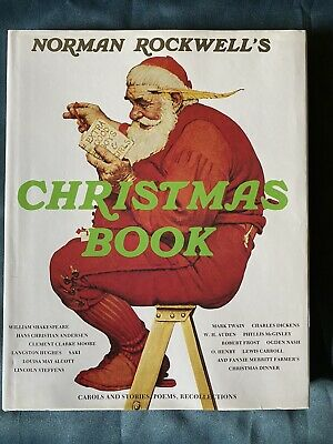 $ CDN60.65 • Buy Norman Rockwell & Molly NORMAN ROCKWELL'S CHRISTMAS BOOK  Reprint 1st Printing