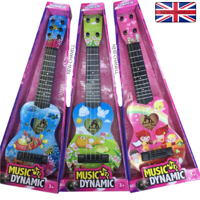 New Kids Childrens Acoustic 17  Guitar Musical Instrument Child Toy Xmas Gift Uk • 11.99£