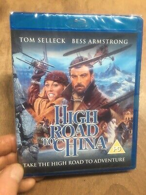 High Road To China-Tom Selleck Bess Armstrong(UK B Blu Ray)New+Sealed Rare OOP • 24.99£