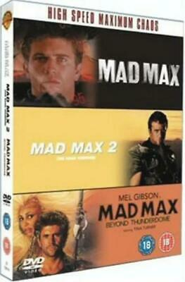 £12.99 • Buy Mad Max Trilogy Mad Max, Mad Max 2, Beyond ThunderDome, 3 Disc DVD Box Set