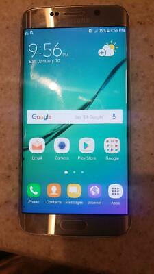 $ CDN103.91 • Buy Samsung Galaxy S6 Edge G925a 64GB CELLPHONE, Silver, AT&T GSM Unlocked