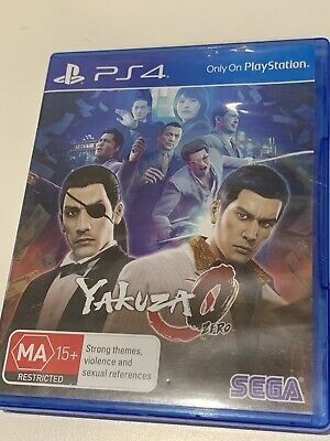 AU25.50 • Buy Yakuza 0 Zero Ps4 Playstation 4