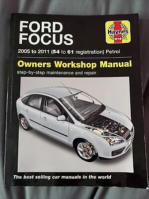 Ford Focus 2005 To 2011 (54 To 61 Registration) Haynes Owners Workshop Manual • 2.60£