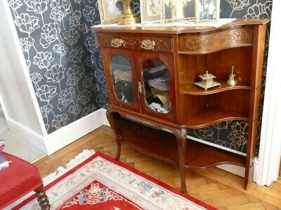 Antique Mahogany Hall Cabinet • 25£
