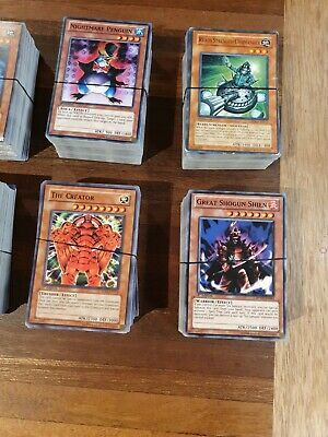 AU300 • Buy Bulk Collection Of 1100+ Original YuGiOh Cards First Edition & 400+ Standard