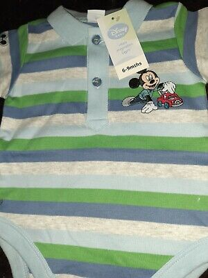 Twin Boy Disney Mickey Mouse Collared Suits • 1£