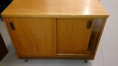 Vintage Mid Century Teak Cabinet/ TV (matches Drinks Cabinet Listed Separately) • 5£