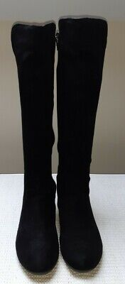 Pavers Black Knee High Boots Size 5 • 19£