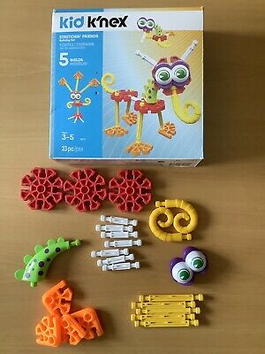 Kid K'NEX Stretchin' Friends Building Set For Ages 3 And Up  • 4£