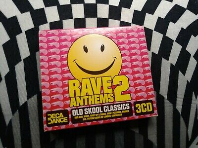 Rave Anthems 2 - Old Skool Classics - 3 Cd Look  • 8.88£