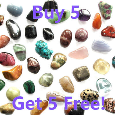 £1.99 • Buy Crystal Tumblestones Polished Stones For Gridding, Healing And Collectors
