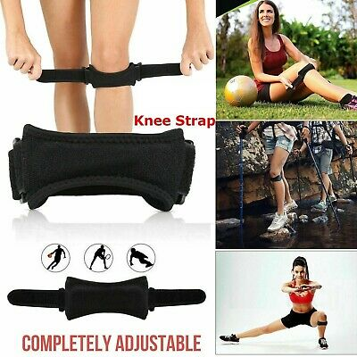Adjustable Knee Support Running Belt Injury Protector Pain Relief Leg Bandage UK • 3.79£