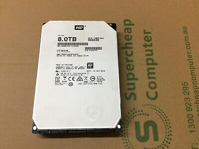 AU199 • Buy WD WD80EZZX 8TB 3.5'' Hard Drive HDD 128MB Cache 5.4Krpm SATA For PC