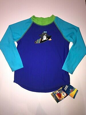 £6.97 • Buy Zoggs Surfing Penguin Long Sleeve Sun Protection Top Age 2-3 UPF 50+ RRP £25