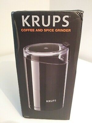 Krups (F2034251) Electric Spice And Coffee Grinder Stainless Steel - Black • 21.27£