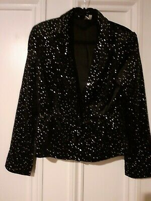 And Other Stories Velvet And Diamante Jacket Worn Once Perfect But Lost A Button • 10.95£