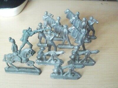 Vintage Lead Soldiers John Hill Co? Britain's? • 8£