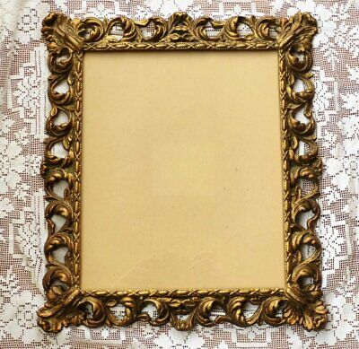 £49.99 • Buy Vintage French Rococo Gold Gilt Metal Picture Frame 15  X 13